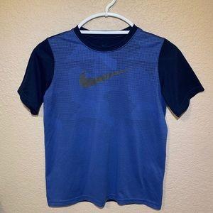 Blue/Navy Nike Dri-Fit T-Shirt